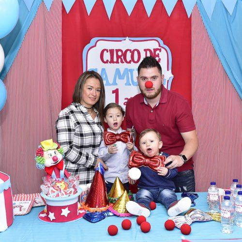 Decoracion Cumpleaños Circo 1 Añito