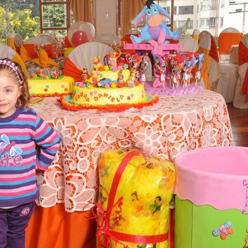 Decoracion de Cumpleaños Winnie Pooh