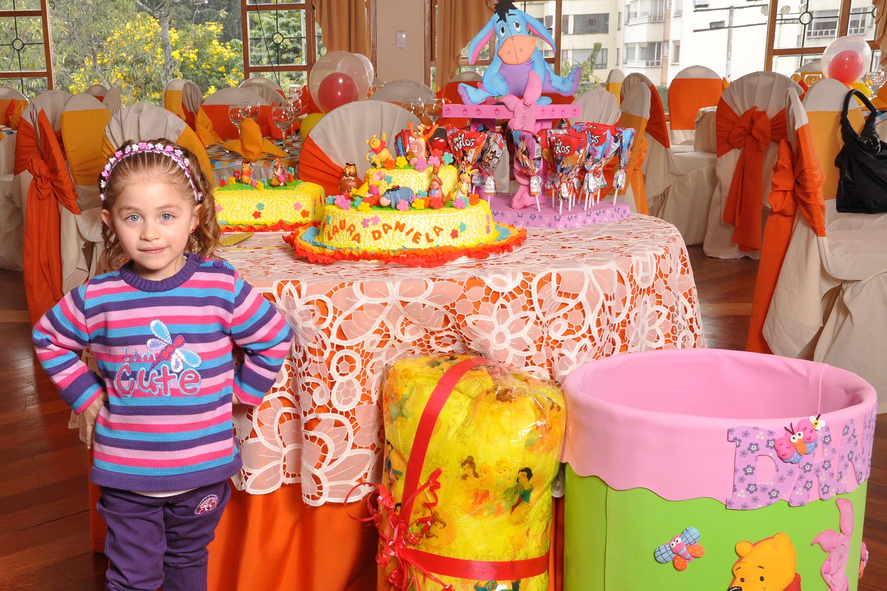 decoracion fiesta Winnie pooh