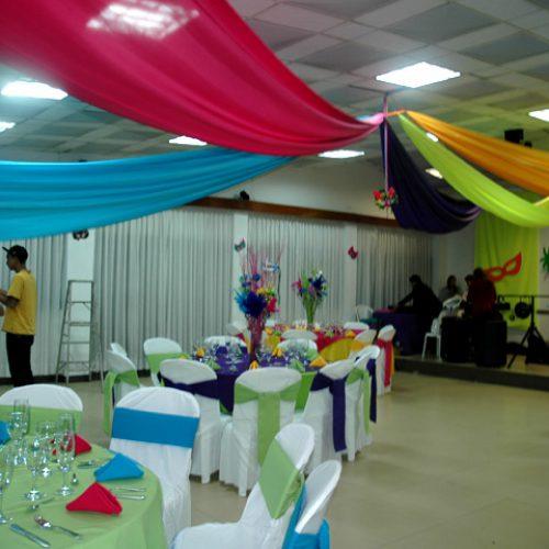 Decoración fiesta 15 años-Carnaval