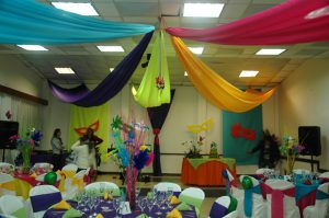 decoración fiesta carnaval