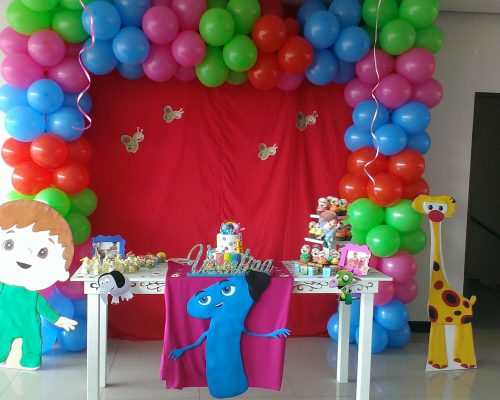 decoracion baby tv