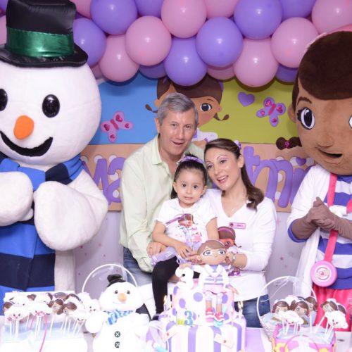 Decoración de Cumpleaños Doctora Juguetes