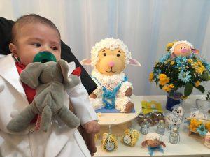 decoracion bautizo para niño
