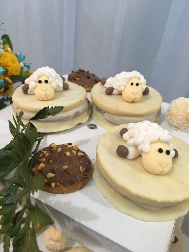 dulces para bautizo