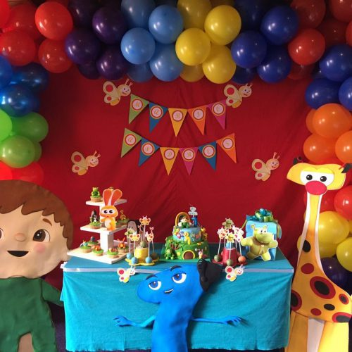 Decoración de cumpleaños – Baby tv
