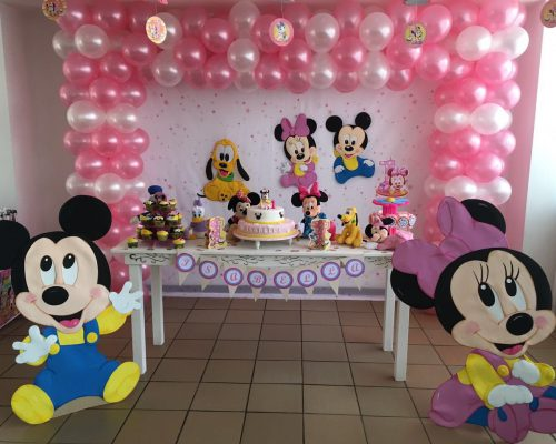 decoracion minnie bebe