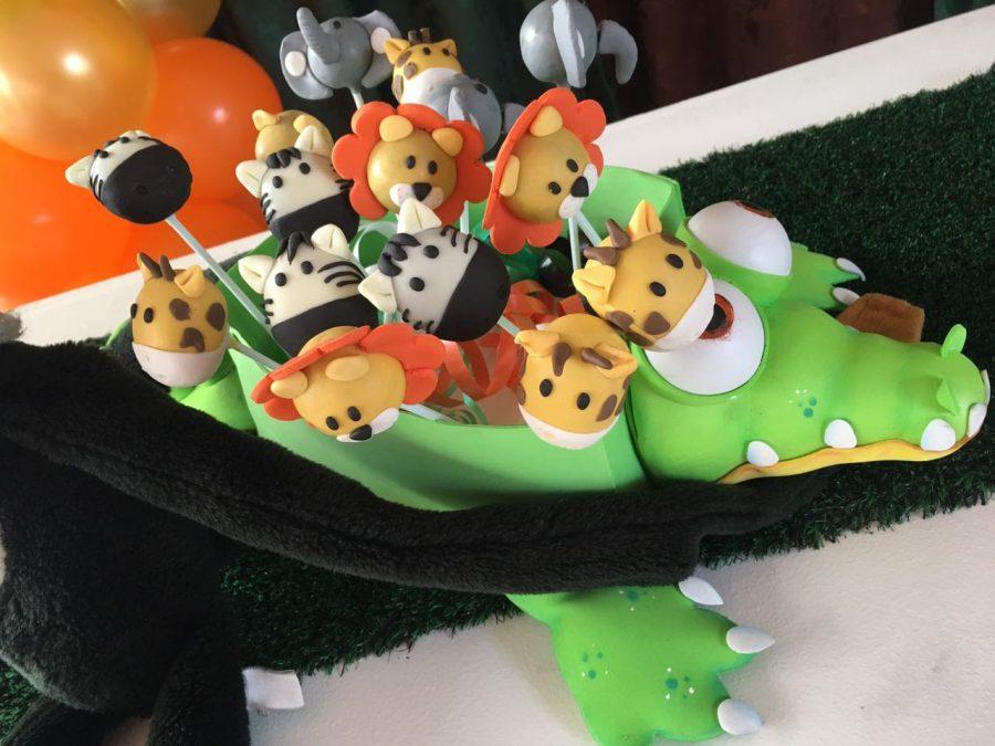 decoración fiesta safari