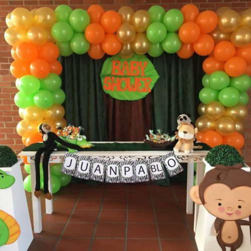 Baby Shower para niño- Tema Safari