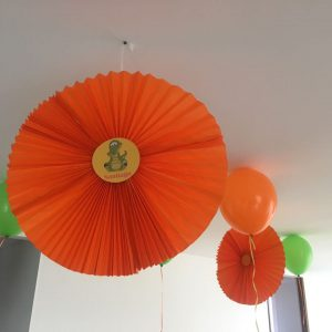 decoracion baby shower safari