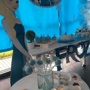 decoracion cumpleaños frozen