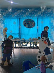 decoracion fiesta frozen