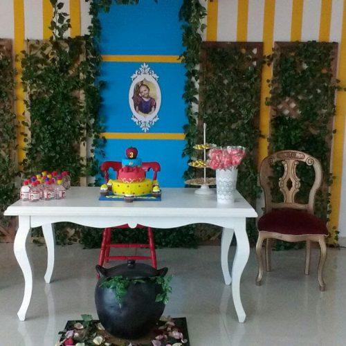 Decoración Cumpleaños Blanca Nieves