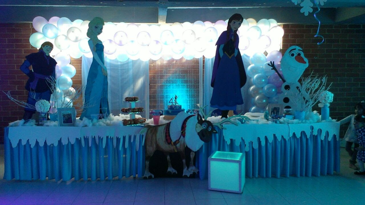 decoracion frozen