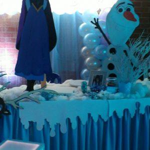 decoracion frozen disney