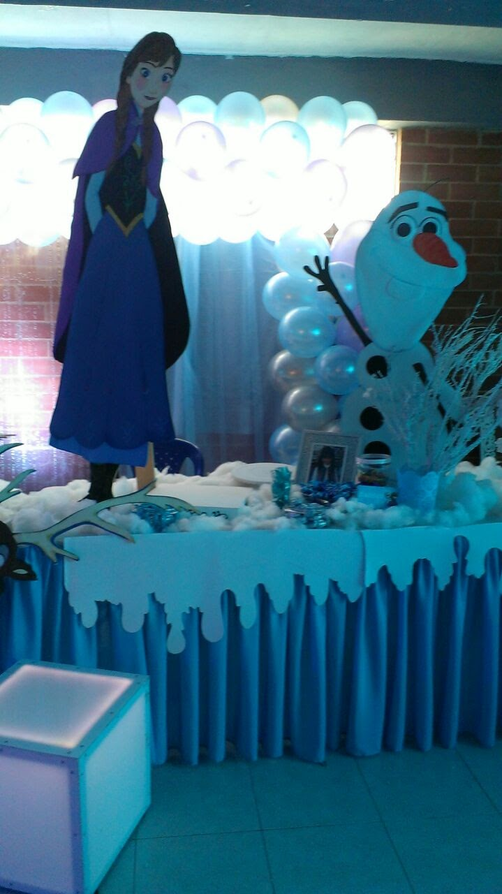 decoracion frozen disney