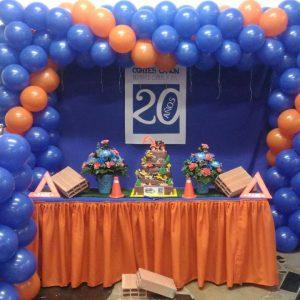 decoracion en globos para empresas