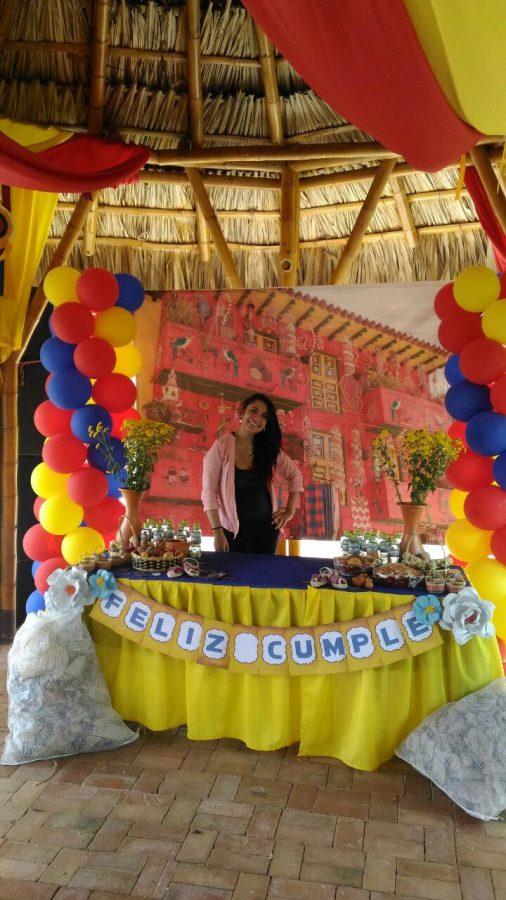 decoracion fiesta colombiana