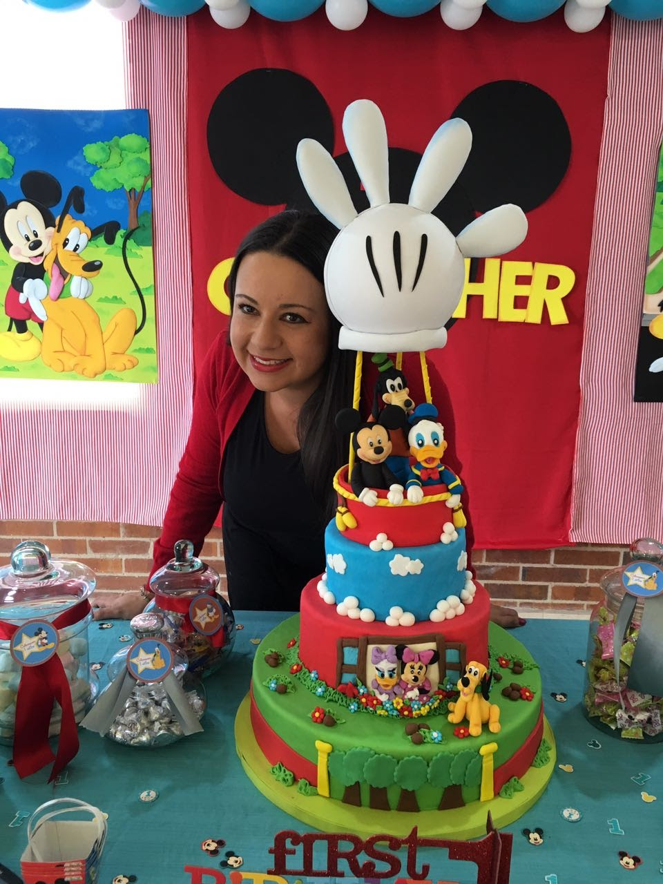 torta mickey mouse