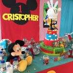 decoracion mesa mickey mouse