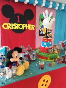 decoracion mesa mickey mouse