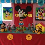 decoracion mickey primer año