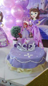 decoracion fiesta princesa sofia