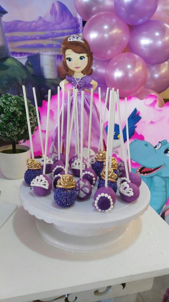 cakepops princesa sofia