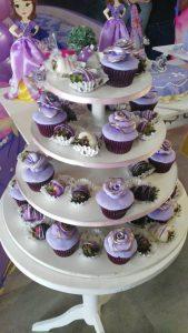 cupcakes princesa sofia