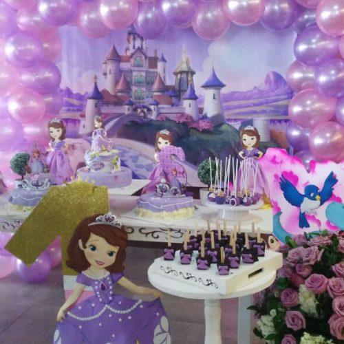 Decoración Cumpleaños Princesa Sofia