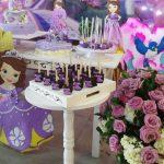 decoracion cumpleaños princesa sofia