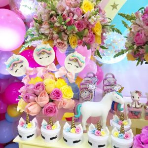 decoracion cumpleaños unicornio
