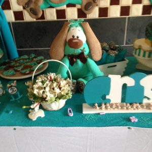 Decoracion baby shower niño