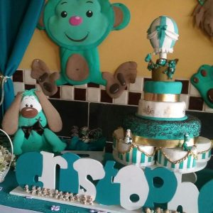 decoracion baby shower safari