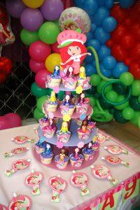 cupcakes fresita moderna