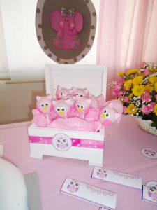 cakepops baby shower niña