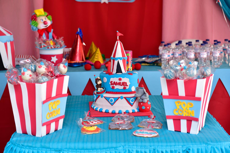 fiesta circo 1 añito