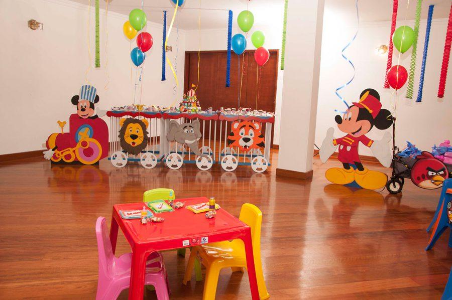decoracion cumpleaños mickey mouse