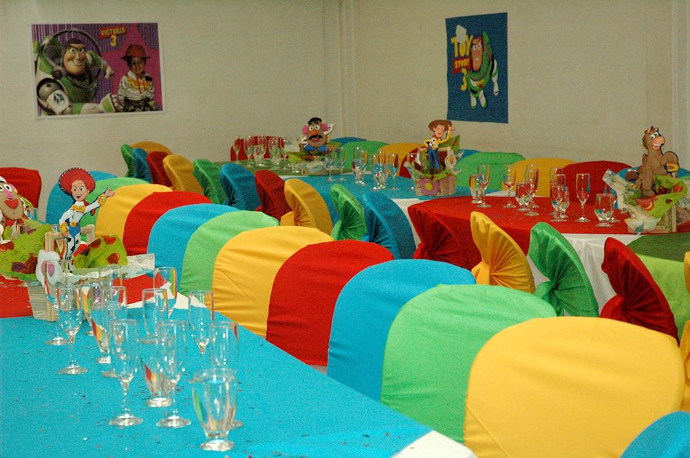 decoración fiesta toy story