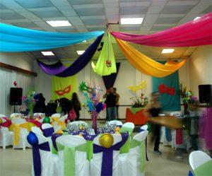 decoracion cunpleaños carnaval