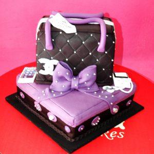 torta cartera chanel
