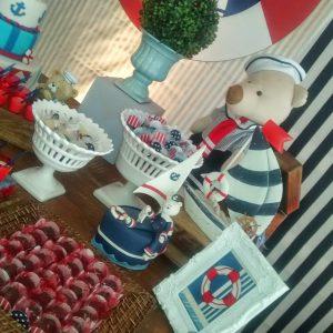 decoracion baby shower marinero