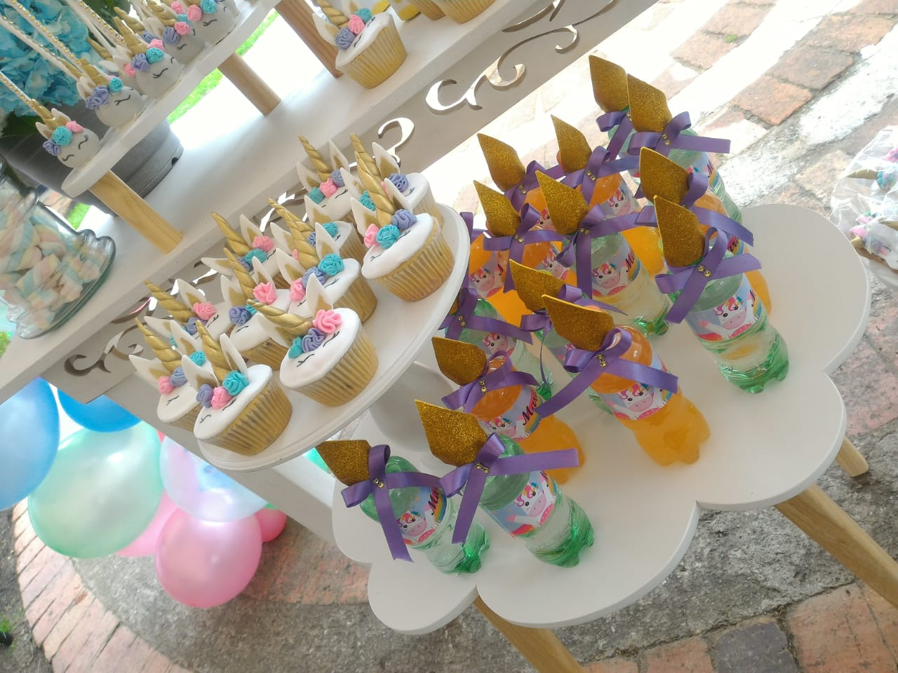decoraciones unicornio