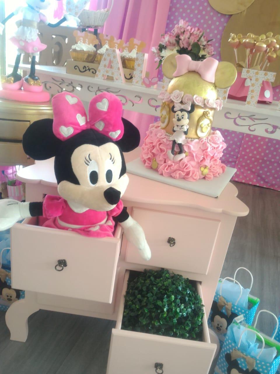 Fiesta Minnie Rosada Decoraciones Tematicas
