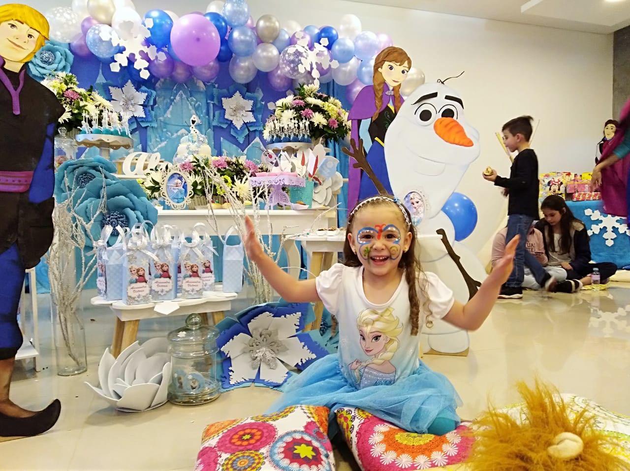 Fiesta temática   Frozen