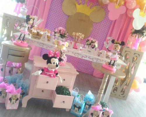 Fiesta temática | Minnie Rosada