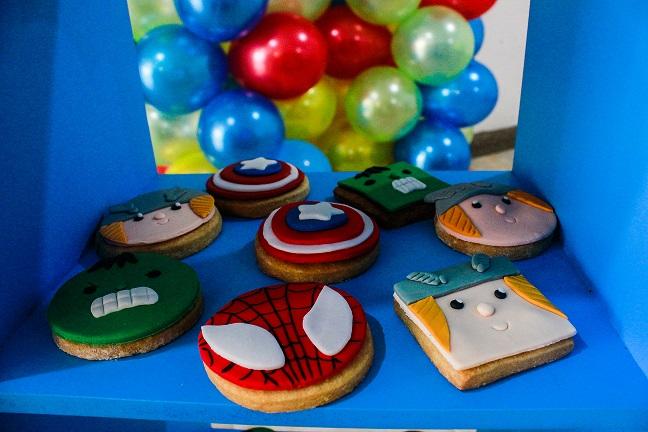 galletas vengadores