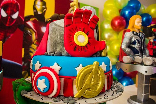 torta fiesta vengadores
