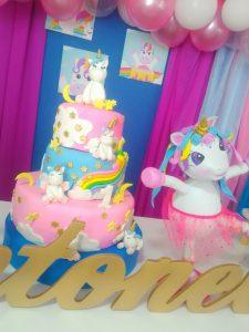 decoración Unicornio