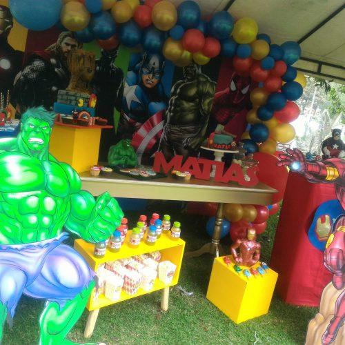 Decoración fiesta Vengadores
